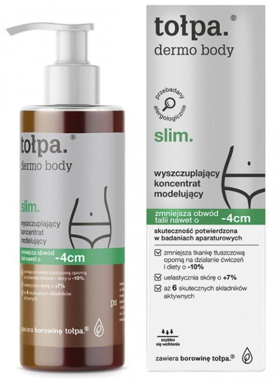 Modellierendes Körperkonzentrat zum Abnehmen - Tolpa Dermo Body Slim Concentrate -4cm — Bild N1