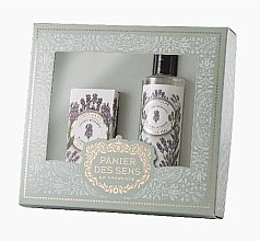 Düfte, Parfümerie und Kosmetik Set - Panier Des Sens Lavender (sh/gel/250ml + hand/cr/75ml)