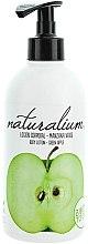 Düfte, Parfümerie und Kosmetik Nährende Körperlotion mit grünem Apfel - Naturalium Body Lotion Green Apple