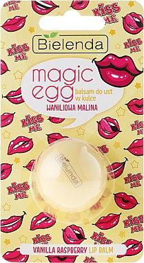 "Lippenbalsam ""Vanille und Himbeere"" - Bielenda Magic Egg Vanilla Raspberry Lip Balm — Bild N1"