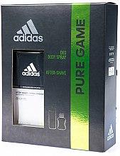 Düfte, Parfümerie und Kosmetik Adidas Pure Game - Duftset (Deodorant/150ml + After Shave/50ml)