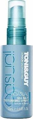 Texturierendes Salz-Haarspray mit Stand Effekt - Toni & Guy Casual Sea Salt Texturising Spray — Bild N1