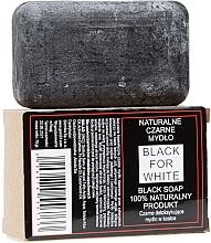 Düfte, Parfümerie und Kosmetik 100% Natürliche schwarze Seife - Biomika Black For White