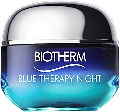 Düfte, Parfümerie und Kosmetik Reparierende Anti-Aging Nachtcreme - Biotherm Blue Therapy Night Cream