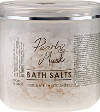 Düfte, Parfümerie und Kosmetik Badesalze - Sezmar Collection Professional Pearl & Musk Bath Salts