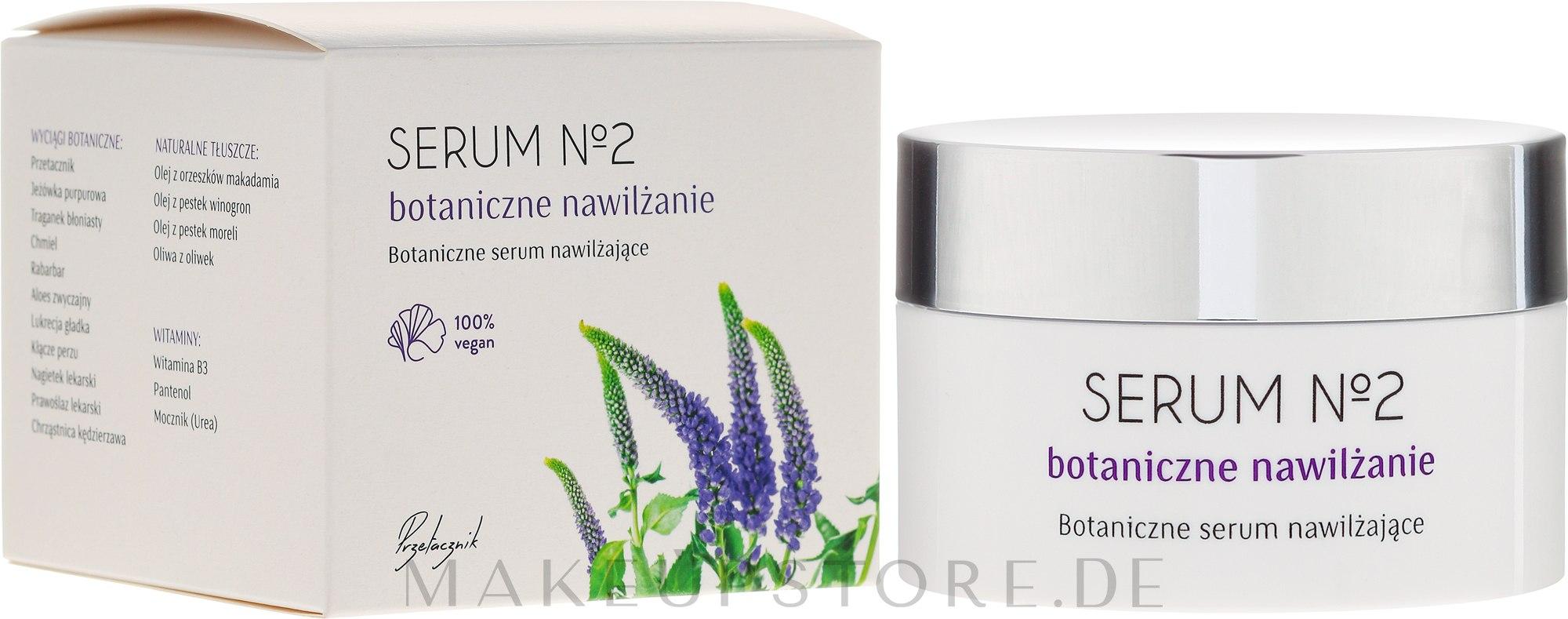 Feuchtigkeitsspendendes Gesichtsserum - Organic Life Dermocosmetics Serum №2 Botanical Moisturiser — Bild 50 ml