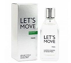 Düfte, Parfümerie und Kosmetik Benetton Let's Move - Eau de Toilette