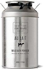 Düfte, Parfümerie und Kosmetik Feuchtigkeitsspendendes Milchbadepulver mit Kamille - Scottish Fine Soaps Au Lait Milk Bath Powder