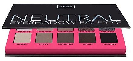 Lidschattenpalette - Wibo Neutral Eye Shadow Palette — Bild N1