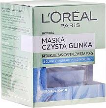 Düfte, Parfümerie und Kosmetik Gesichtsmaske mit reiner Tonerde - L'Oreal Paris Skin Expert