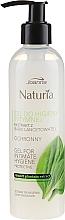 Düfte, Parfümerie und Kosmetik Gel für die Intimhygiene mit Wegerichextrakt - Joanna Naturia Intimate Hygiene Gel