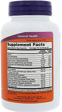 Detox-Kapseln - Now Foods Detox Support — Bild N3