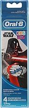 Düfte, Parfümerie und Kosmetik Austauschbare Zahnbürstenköpfe für Kinderzahnbürste extra weich Star Wars 4 St. - Oral-B Kids Star Wars Extra Soft