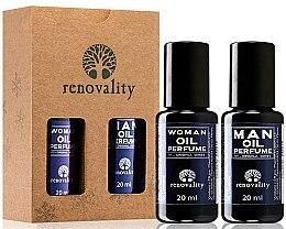 Düfte, Parfümerie und Kosmetik Renovality Original Series - Duftset (Parfümierte Öle/2x20ml)