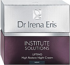 Düfte, Parfümerie und Kosmetik Anti-Falten Nachtcreme - Dr Irena Eris Institute Solutions Lifting High Restone Night Cream