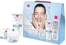 Düfte, Parfümerie und Kosmetik Gesichtspflegeset (Gesichtscreme 50ml + Gesichtsgel 150ml + Lotion 400ml) - Dermacol Aqua Beauty