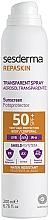 Düfte, Parfümerie und Kosmetik Wasserfestes Sonnenschutzspray für den Körper SPF 50+ - SesDerma Laboratories Repaskin Aerosol Spray SPF50