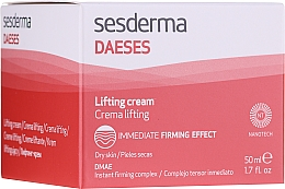 Düfte, Parfümerie und Kosmetik Intensiv glättende Gesichtscreme mit Lifting-Effekt - SesDerma Laboratories Daeses Immediate Firming Effect Lifting Cream