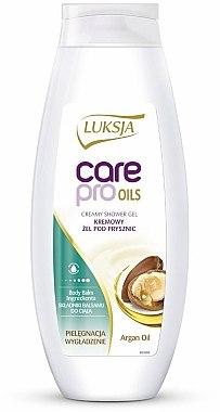 Creme-Duschgel mit Arganöl - Luksja Care Pro Oils Creamy Shower Gel — Bild N1