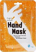 Düfte, Parfümerie und Kosmetik Feuchtigkeitsspendende und straffende Maske in Handschuh-Form - Cettua Smoothing Hand Mask