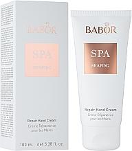 Düfte, Parfümerie und Kosmetik Regenerierende Handcreme - Babor SPA Shaping Repair Hand Cream