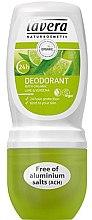Düfte, Parfümerie und Kosmetik Deo Roll-on mit Eisenkraut- und Limettenduft - Lavera 24h Deodorant