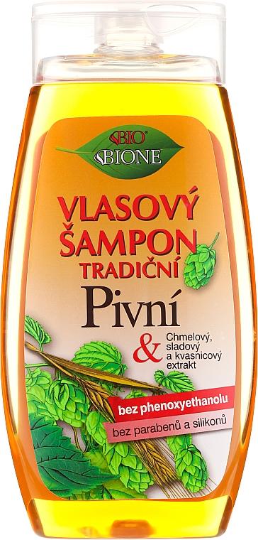Shampoo mit Bierhefe - Bione Cosmetics Traditional Beer Hair Shampoo — Bild N1