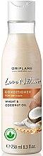 """Düfte, Parfümerie und Kosmetik Haarspülung """"Wheat & Coconut Oil"""" für sehr trockene Haare - Oriflame Love Nature Wheat & Coconut Oil Conditioner"""