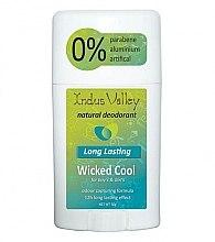 Düfte, Parfümerie und Kosmetik Natürlicher Deostick Wicked Cool - Indus Valley Wicked Cool Deodorant Stick