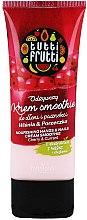 Düfte, Parfümerie und Kosmetik Pflegende Hand- und Nagelcreme mit Kirsch- und Johannisbeerextrakt - Farmona Tutti Frutti Cream Smoothie