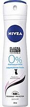Düfte, Parfümerie und Kosmetik Deospray Antitranspirant - Nivea Women Deospray Invisile Black&White 0% Aluminium