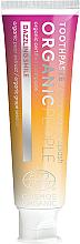 Düfte, Parfümerie und Kosmetik Aufhellende Zahnpasta mit Birnenextrakt für empfindliche Zähne - Organic People Champagne Splash Toothpaste