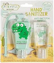Düfte, Parfümerie und Kosmetik Antibakterieller Handpflegeset Dino - Jack N' Jill Hand Sanitizer (Dino)