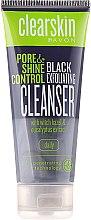 Gesichtsreinigungsmaske zur Porenverfeinerung mit Eukalyptusextrakt - Avon Clearskin Pore&Shine Control Black Exfoliating Cleanser — Bild N2