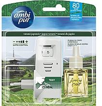 Düfte, Parfümerie und Kosmetik Lufterfrischer-Set Japanische Tatami - Ambi Pur (Aroma-Diffusor 1 St. + Refill 21.5ml)