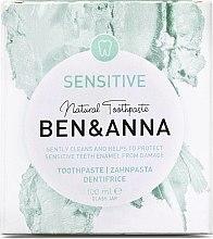 Düfte, Parfümerie und Kosmetik Natürliche sensitive Zahnpasta - Ben & Anna Natural Sensitive Toothpaste