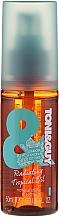 Düfte, Parfümerie und Kosmetik Pflegendes Haarelixier mit Kokosnuss und UV-Filter - Toni & Guy Casual Radiating Tropical Elixir