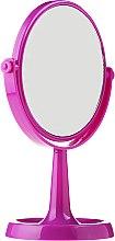 Düfte, Parfümerie und Kosmetik Kosmetikspiegel mit Ständer 85734 rund 15,5 cm violett - Top Choice Colours Mirror