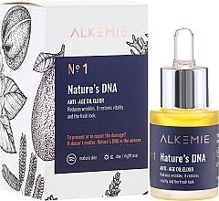 Düfte, Parfümerie und Kosmetik Revitalisierendes Anti-Aging Öl-Elixier für das Gesicht - Alkemie Nature's DNA Oil Elixir