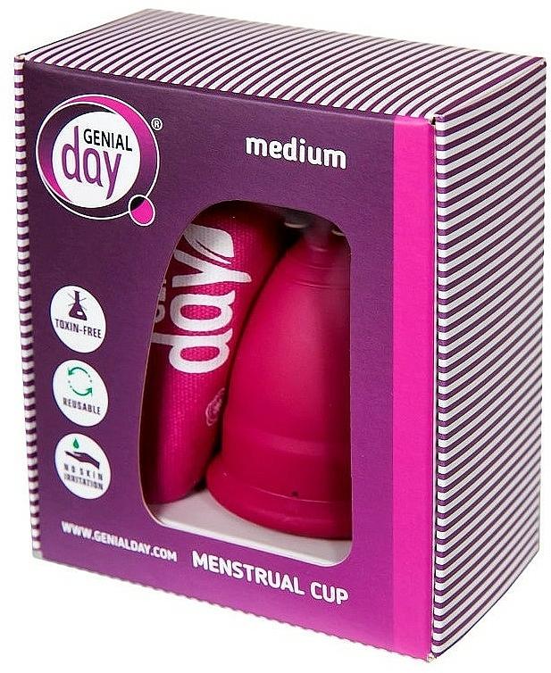 Menstruationstasse M - Genial Day Menstrual Cup — Bild N1