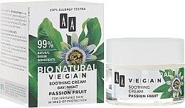 Düfte, Parfümerie und Kosmetik Beruhigende Gesichtscreme - AA Cosmetics Bio Natural Vegan Passiflora Cream