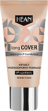 Düfte, Parfümerie und Kosmetik Wasserfeste Foundation - Hean Long Cover Waterproof Foundation