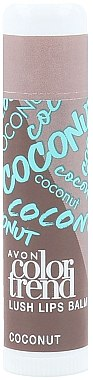 Lippenbalsam Kokos - Avon Color Trend Coconut Lush Lip Balm — Bild N1