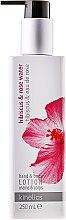 Düfte, Parfümerie und Kosmetik Körper- und Handlotion mit Hibiskus und Rosenwasser - Kinetics Hibiscus & Rose Water Lotion