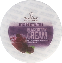 """Düfte, Parfümerie und Kosmetik Feuchtigkeitsspendende und nährende Hand-und Fußcreme """"Brombeere"""" - Stani Chef's Blackberry Cream Hand & Foot Butter"""