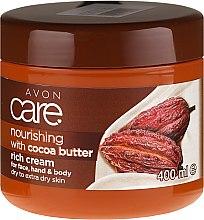 Düfte, Parfümerie und Kosmetik Nährende Gesichts- und Körpercreme mit Kakaobutter für trockene und sehr trockene Haut - Avon Care