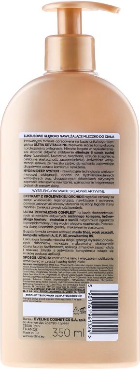 Feuchtigkeitsspendende Körpermilch - Eveline Cosmetics Luxury Expert Body Milk — Bild N2