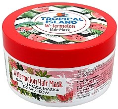 Düfte, Parfümerie und Kosmetik Feuchtigkeitsspendende Haarmaske mit Wassermelone - Marion Tropical Island Watermelon Hair Mask