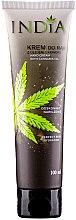 Düfte, Parfümerie und Kosmetik Handcreme mit Hanföl - India Hand Cream With Cannabis