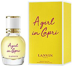 Düfte, Parfümerie und Kosmetik Lanvin A Girl in Capri - Eau de Toilette (Mini)